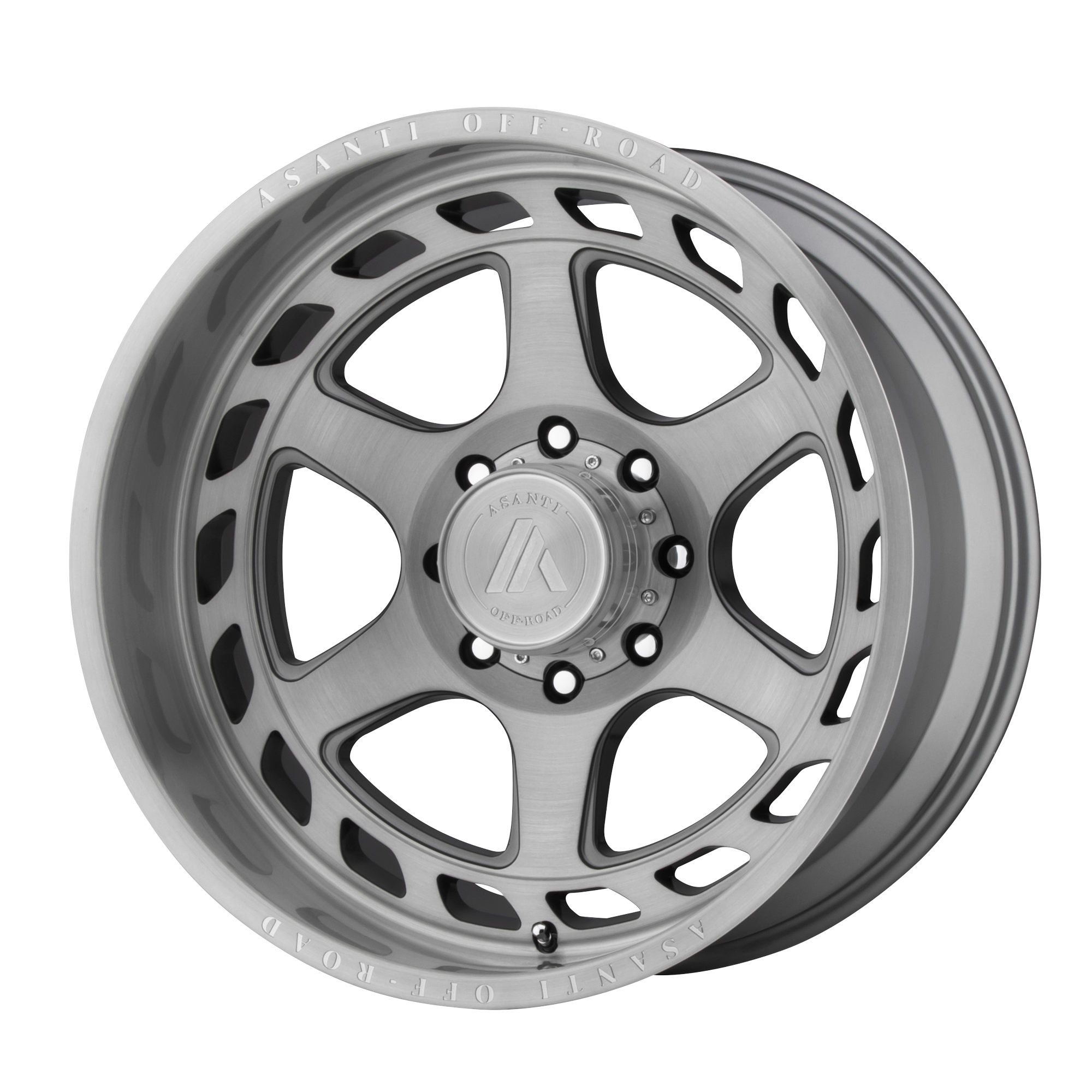 ASANTI OFF ROAD AB816 ANVIL hliníkové disky 10x22 6x135 ET-18 Titanium-Brushed