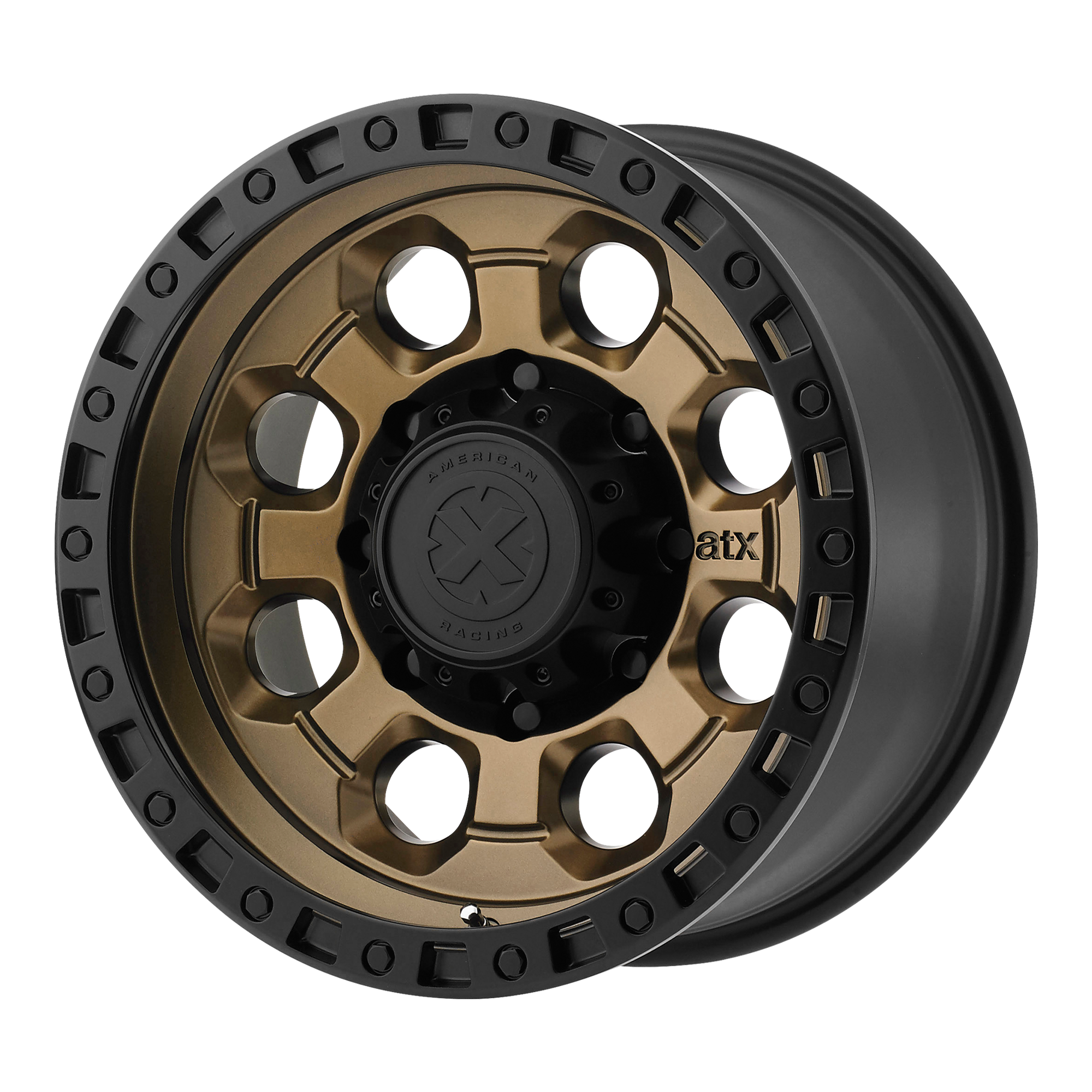 ATX SERIES AX201 hliníkové disky 9x18 5x120 ET35 Matte Bronze With Black Lip