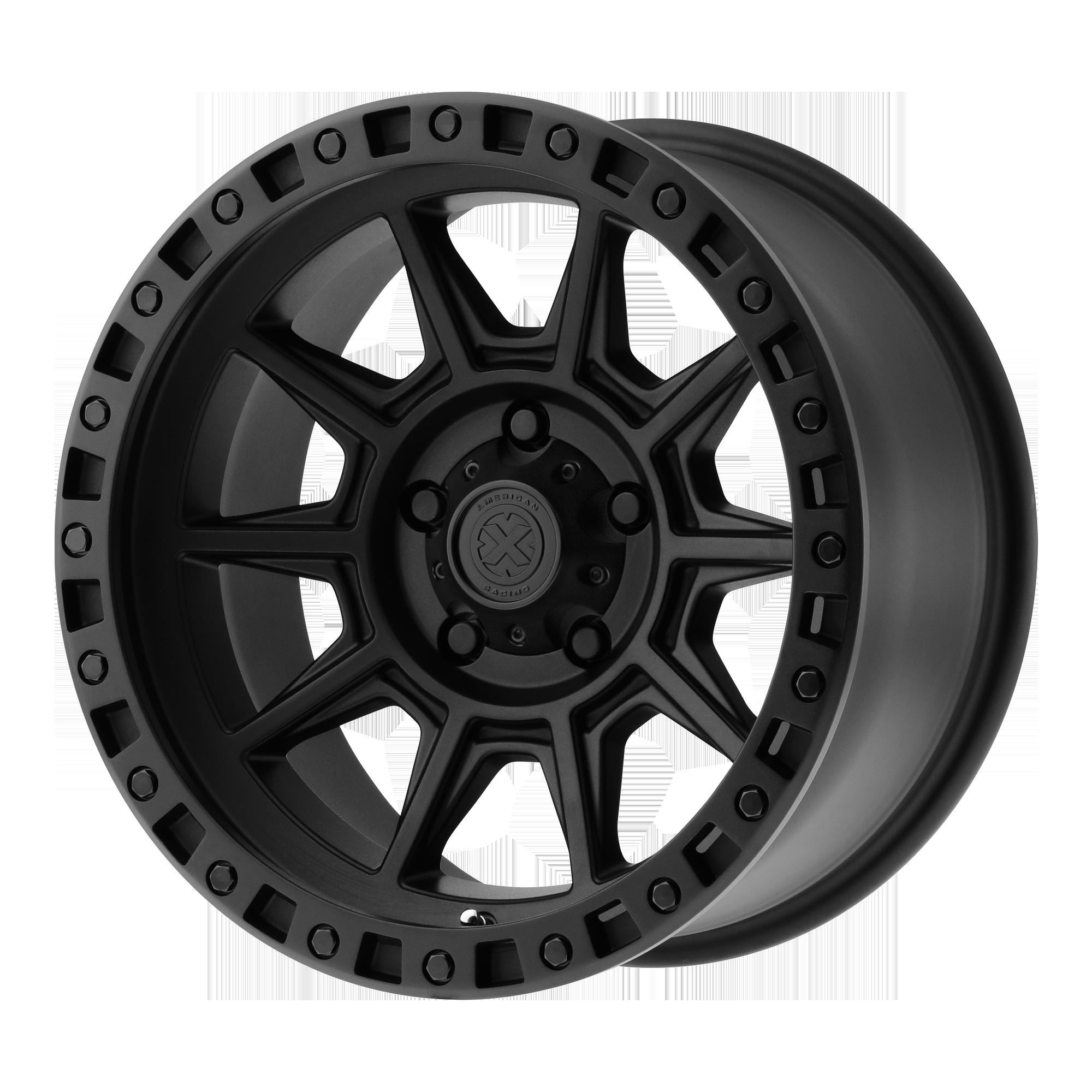 ATX SERIES AX202 hliníkové disky 9x17 8x170 ET-12 Cast Iron Black