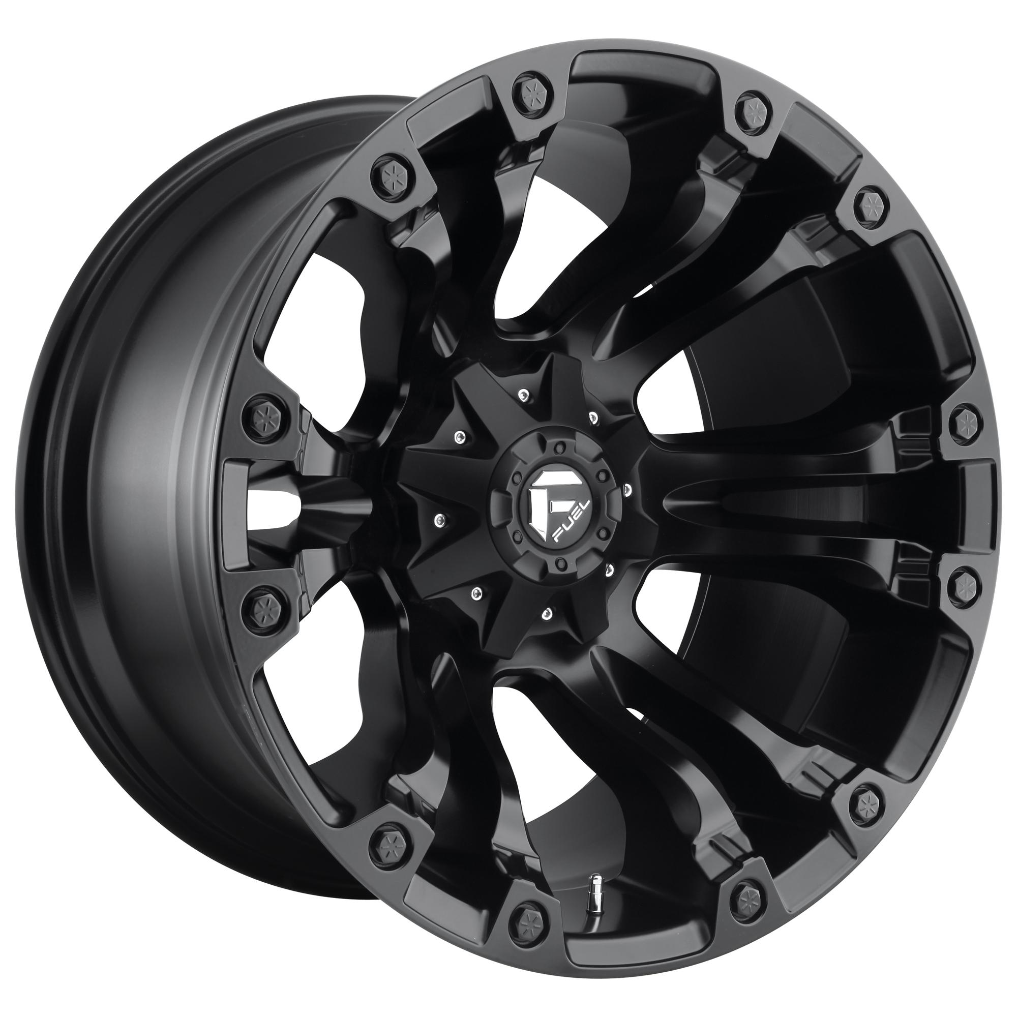 HELO HE878 SATIN BLACK HE878 17x9 8x165.10 SATIN BLACK -12 mm