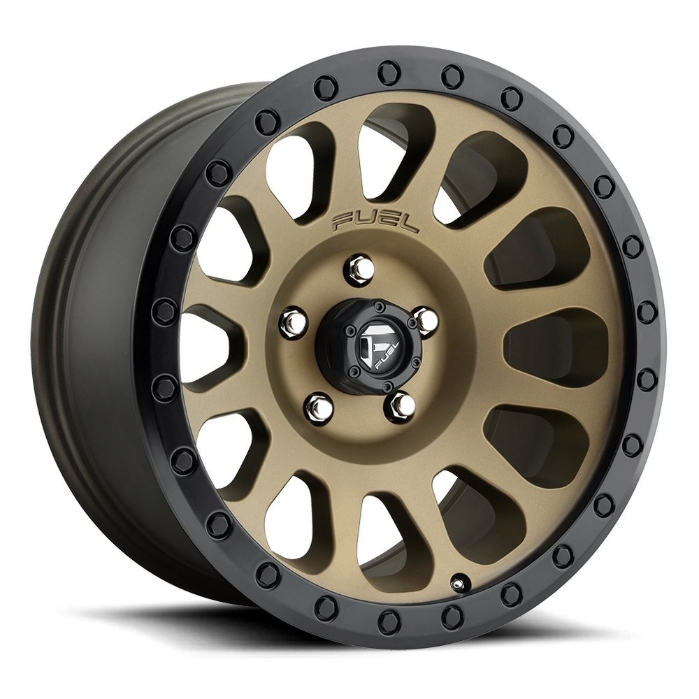 FUEL UTV VECTOR MATTE BRONZE BLACK BEAD RING