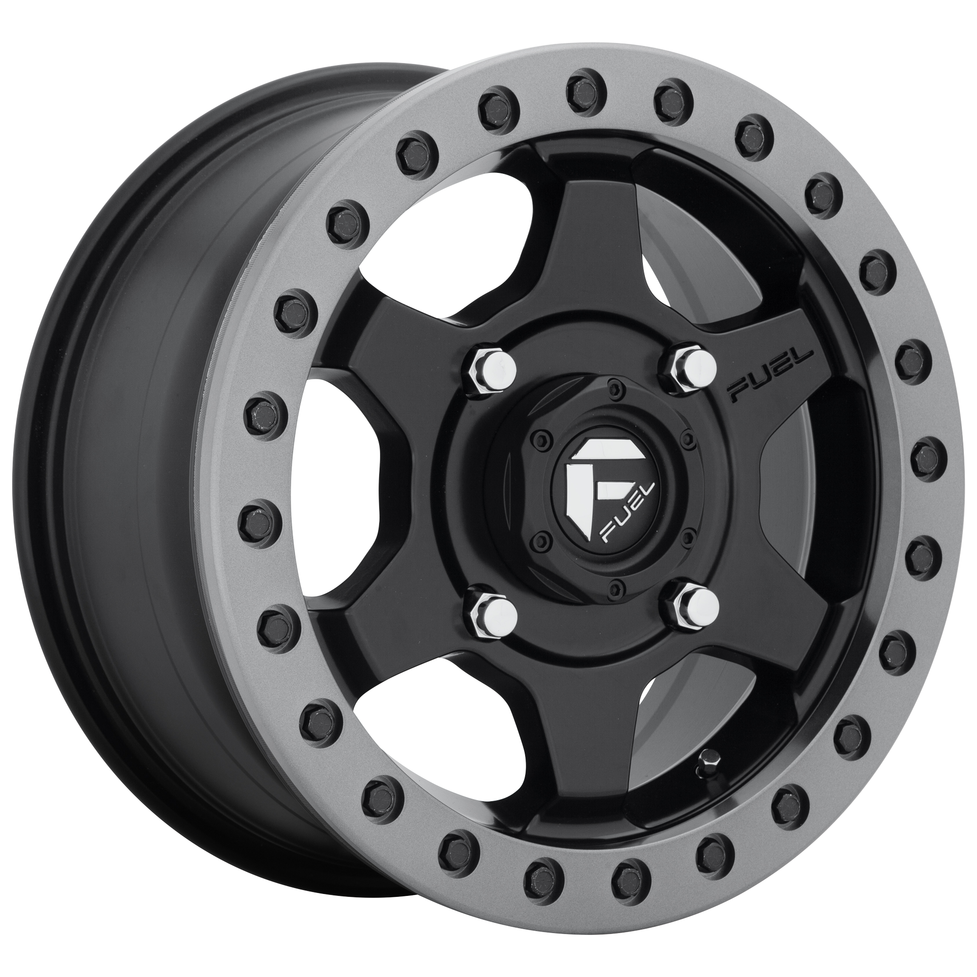 FUEL UTV GATLING BL - OFF ROAD ONLY MATTE BLACK