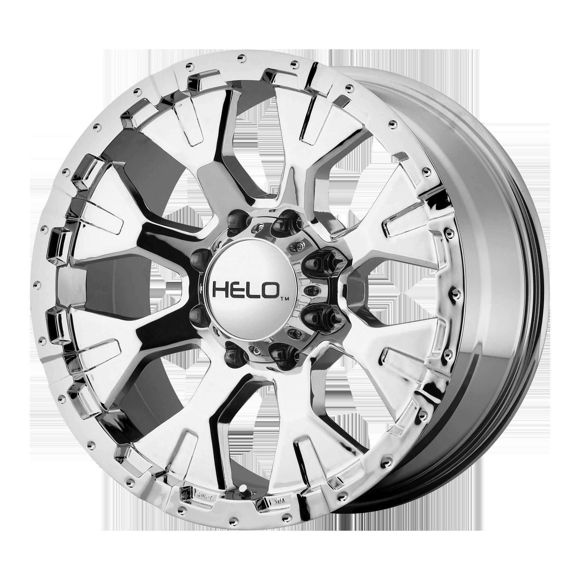 HELO HE878 hliníkové disky 9x17 5x127 ET-12 Chrome
