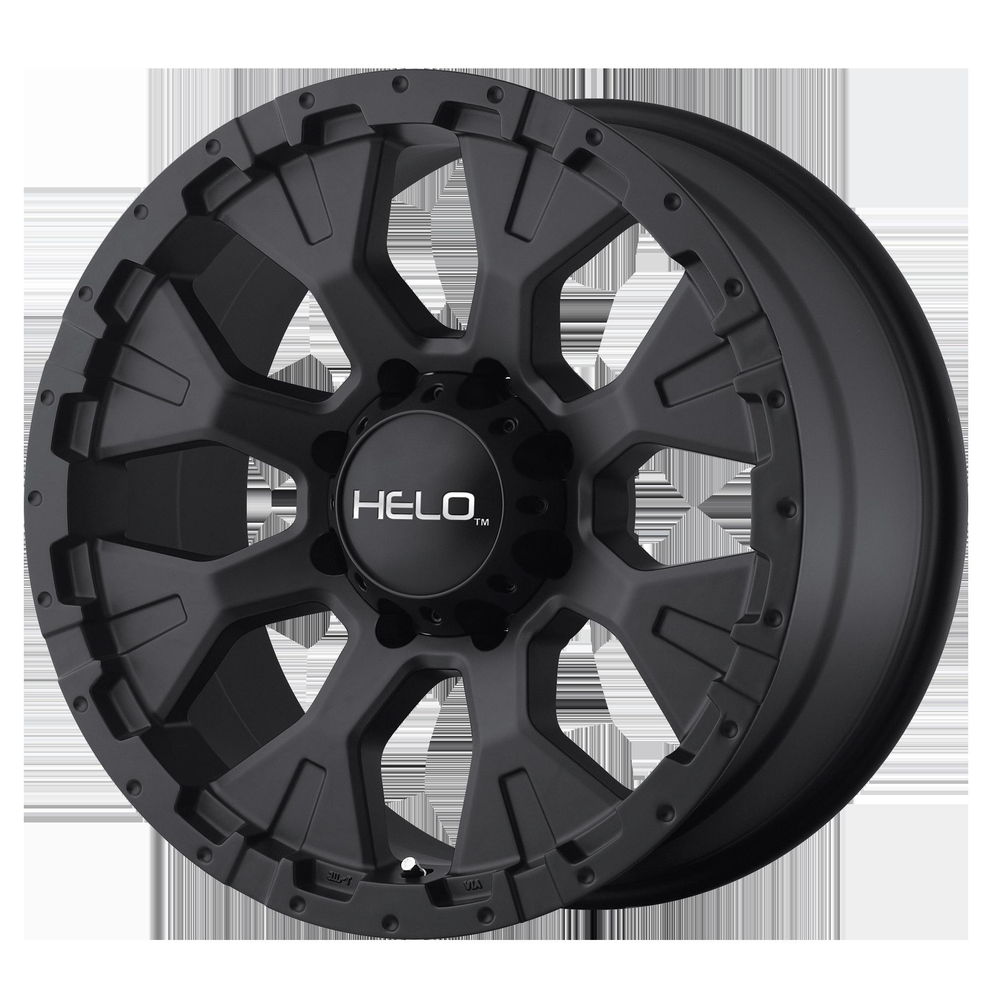 HELO HE878 hliníkové disky 9x18 8x165,1 ET-12 Satin Black