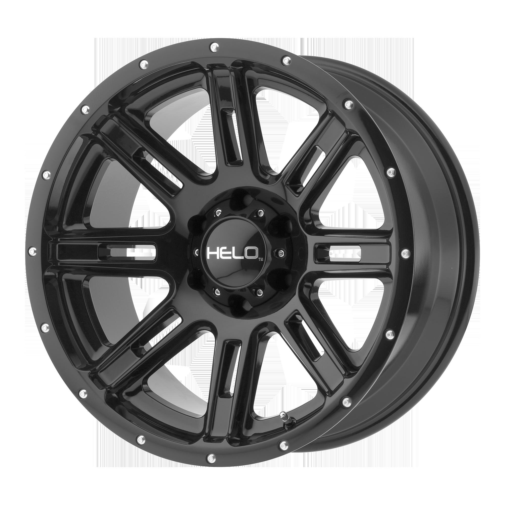 HELO HE900 hliníkové disky 10x20 8x165,1 ET-24 Gloss Black
