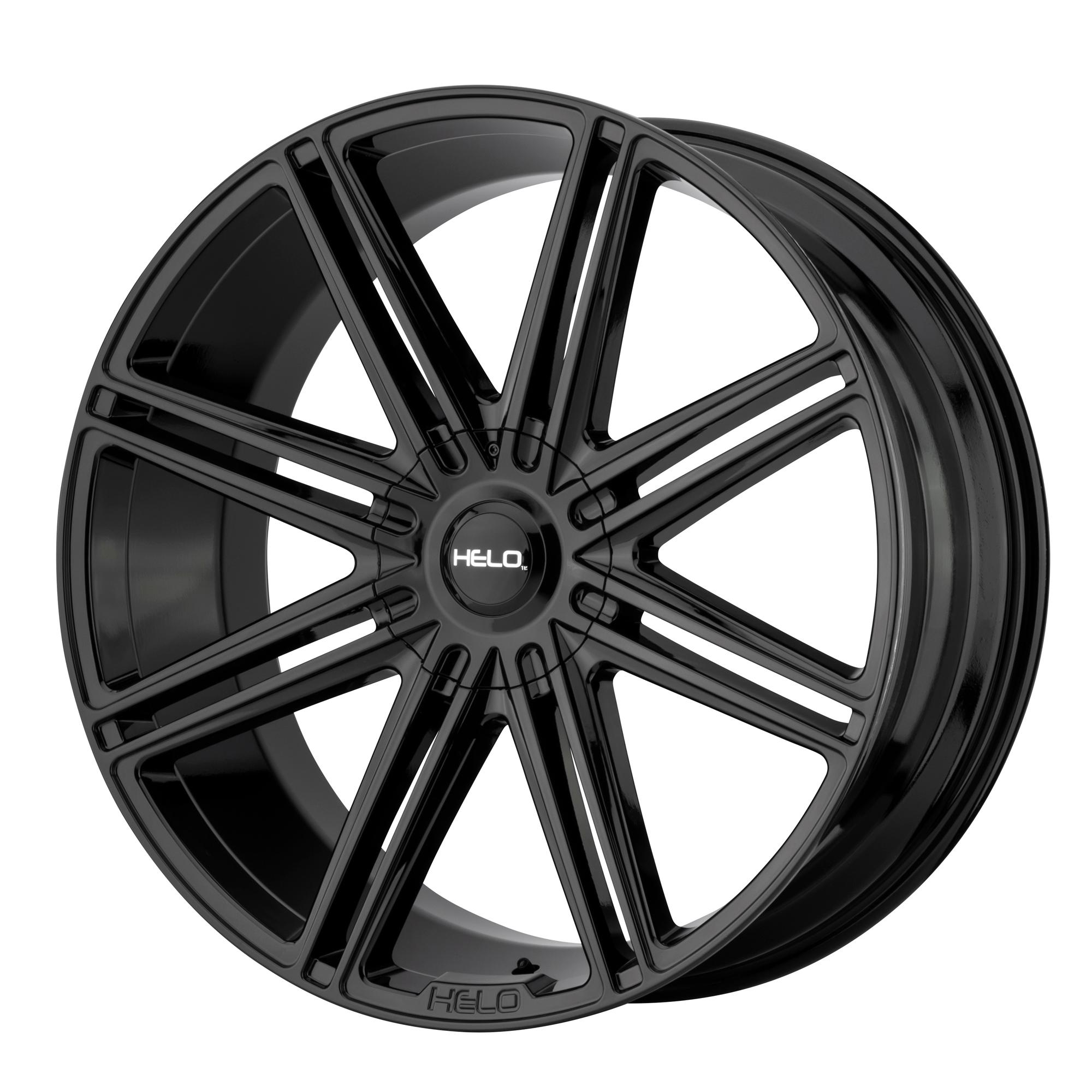 HELO HE913 hliníkové disky 10x24 6x139,7 ET30 Gloss Black
