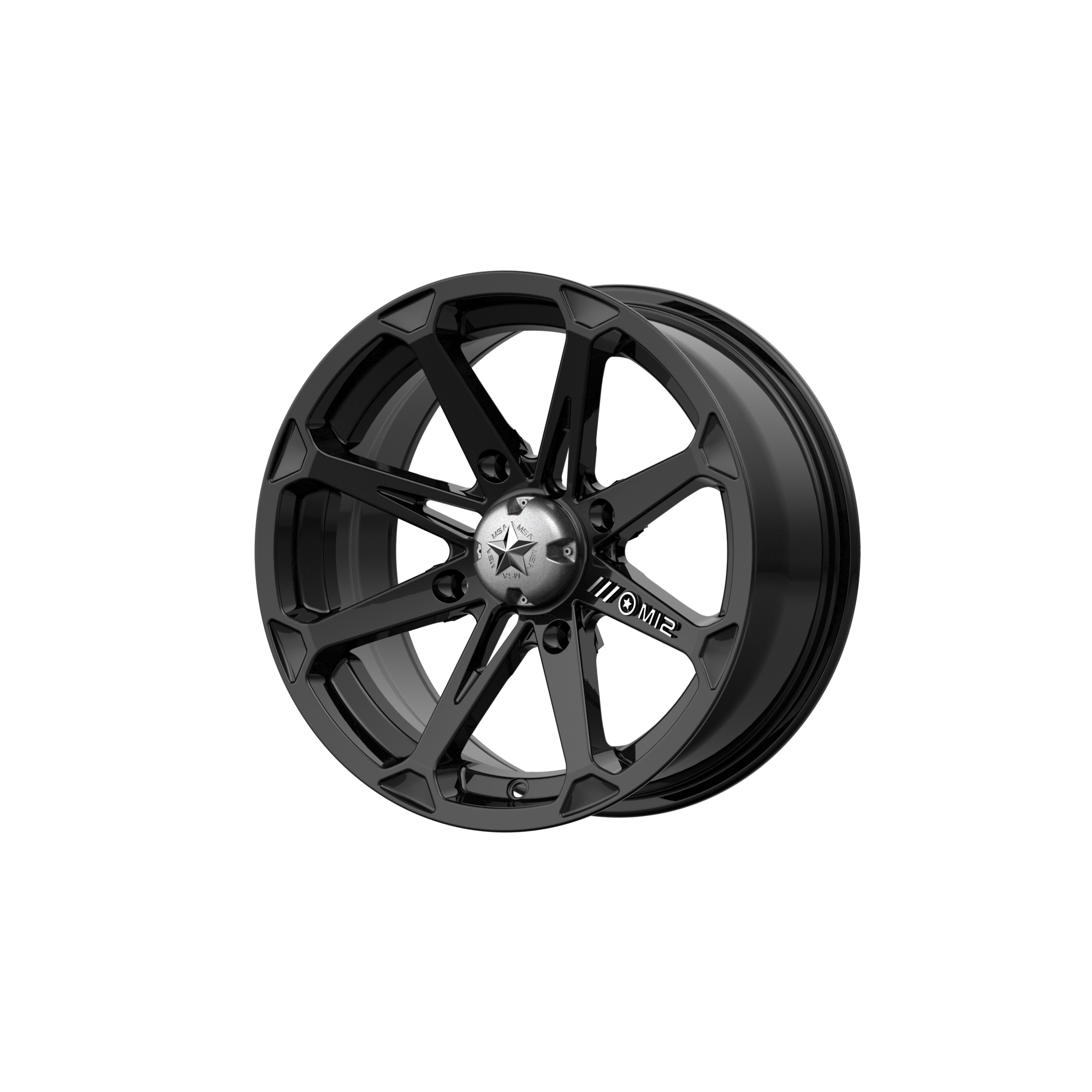 MSA OFFROAD WHEELS DIESEL GLOSS BLACK