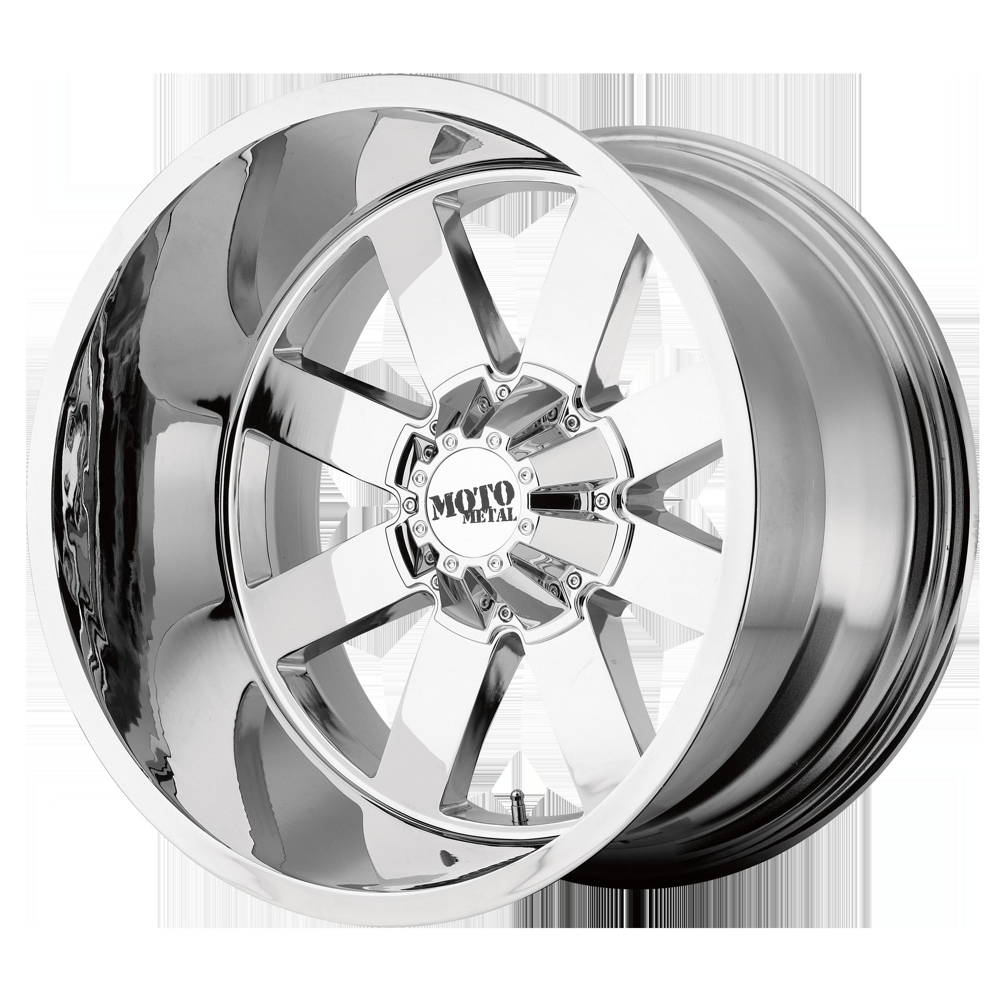 MOTO METAL MO962 hliníkové disky 10x22 8x165,1 ET-18 Chrome