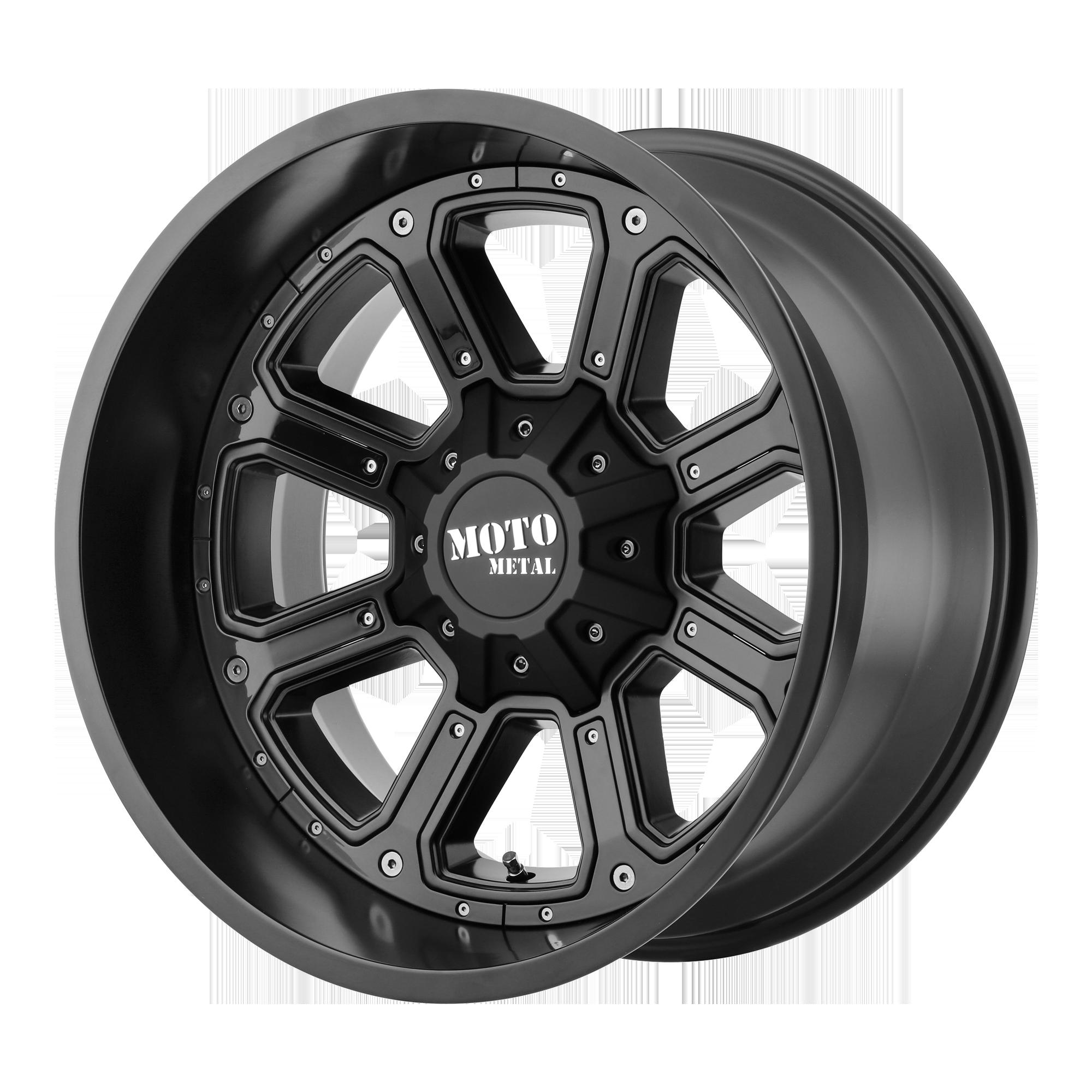 MOTO METAL MO984 SHIFT hliníkové disky 12x20 8x180 ET-44 Matte Black Gloss Black Inserts