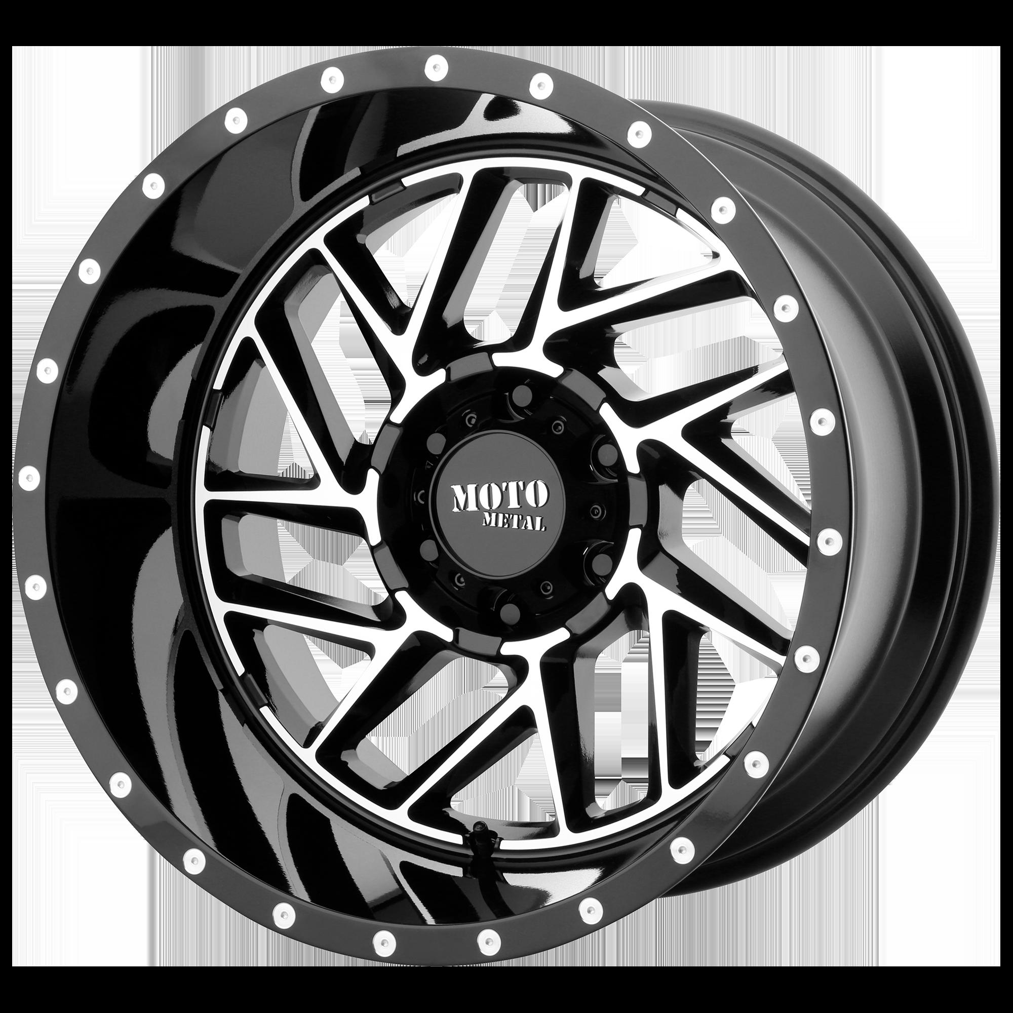 MOTO METAL MO985 BREAKOUT hliníkové disky 9x20 8x170 ET18 Gloss Black Machined