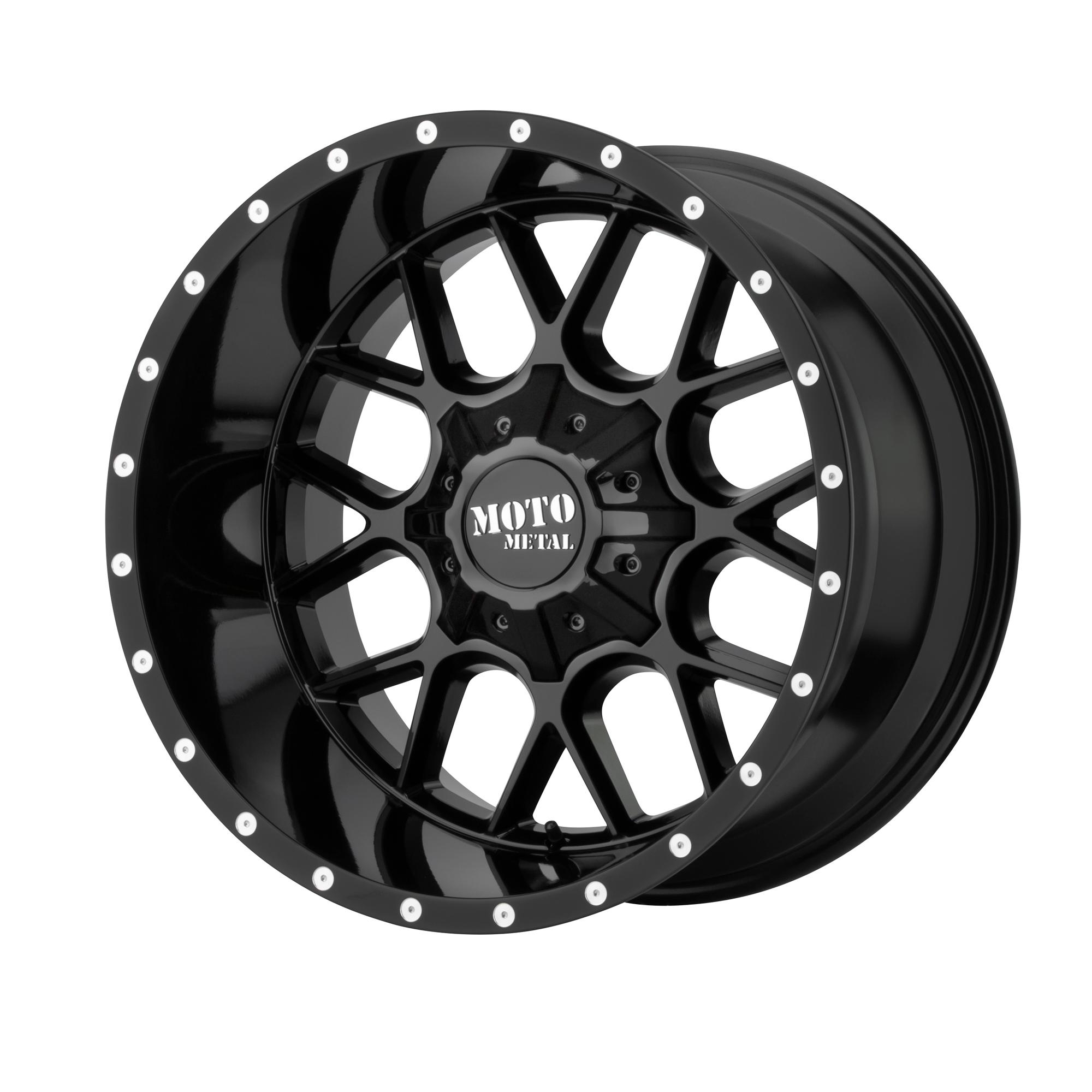MOTO METAL MO986 SIEGE hliníkové disky 10x22 6x135 ET12 Gloss Black