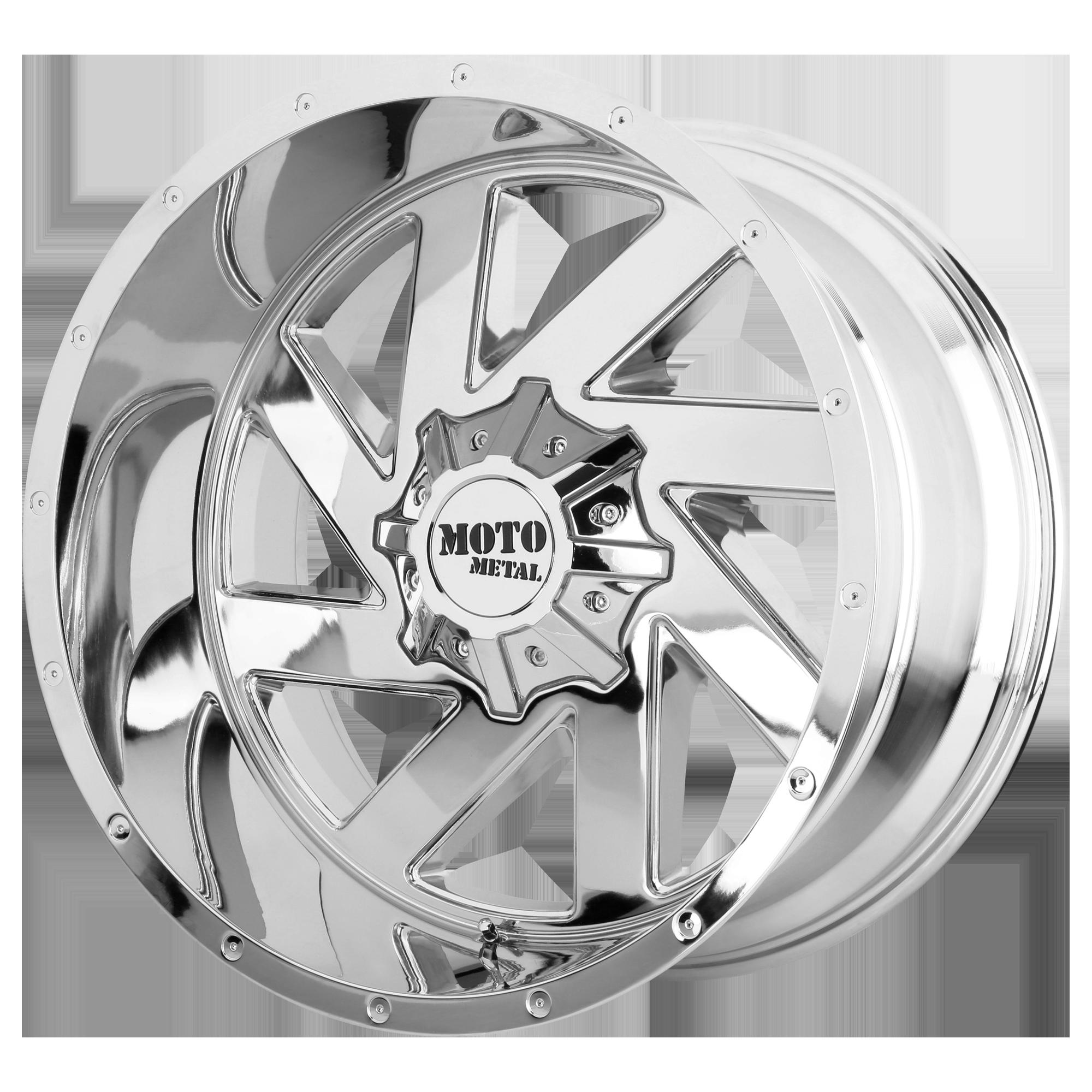 MOTO METAL MO988 MELEE hliníkové disky 12x20 6x135 ET-44 Chrome