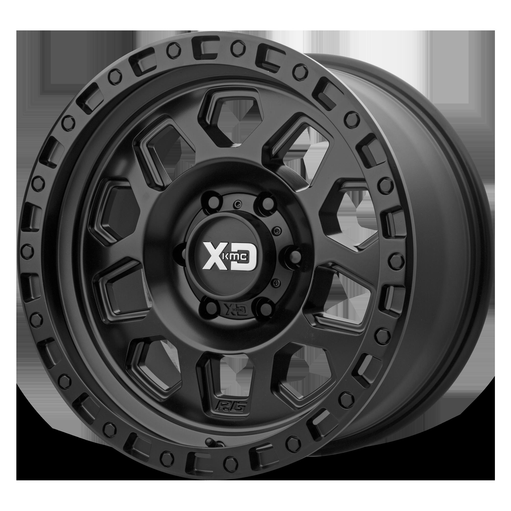 XD SERIES XD132 RG2 hliníkové disky 9x17 8x170 ET-12 Satin Black