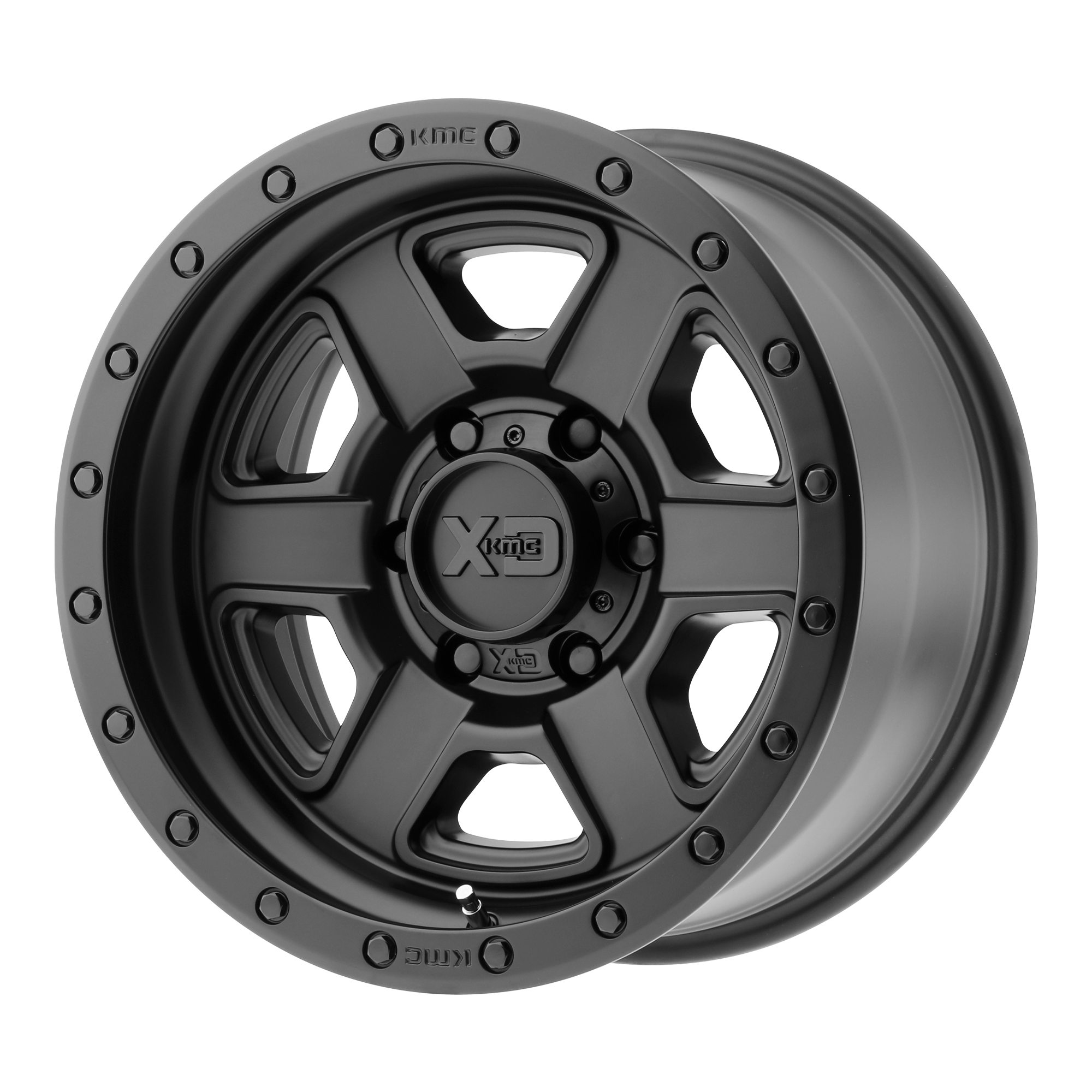 XD SERIES XD133 FUSION OFF-ROAD hliníkové disky 9x17 5x127 ET-12 Satin Black