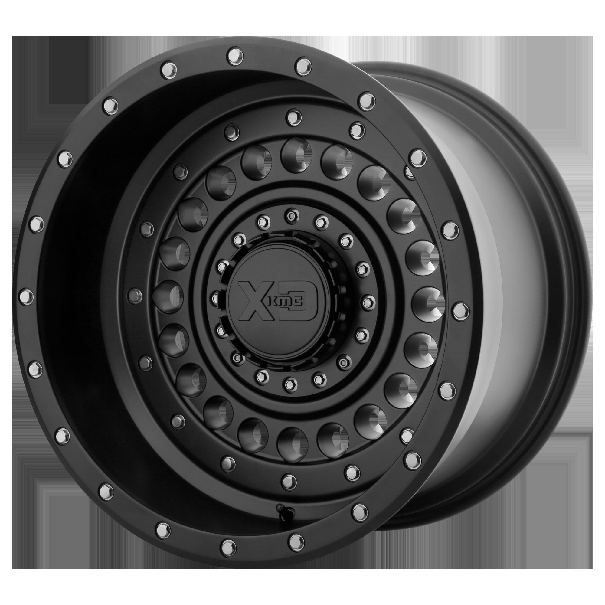 XD SERIES XD136 PANZER hliníkové disky 9x17 5x127 ET-12 Satin Black