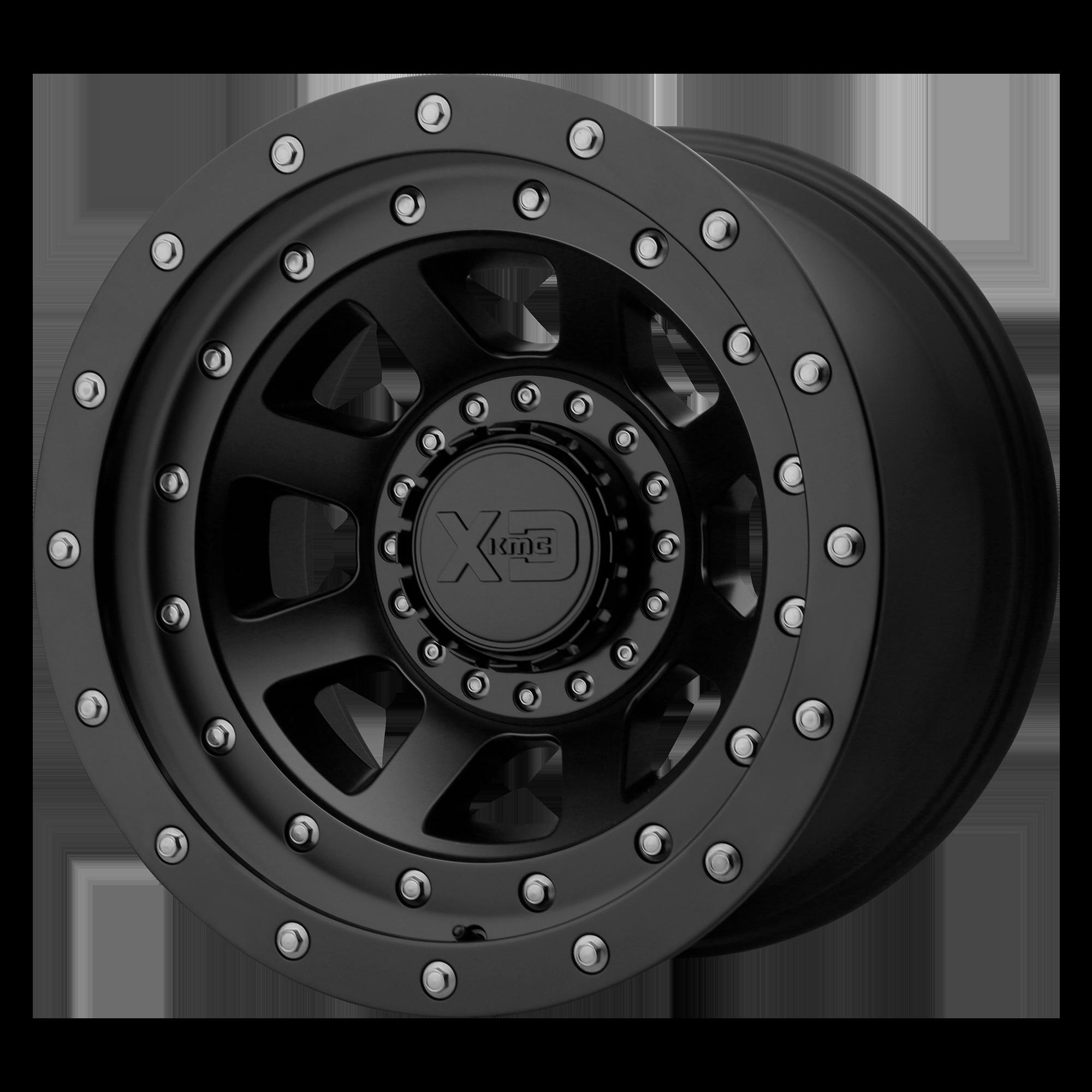 XD SERIES XD137 FMJ hliníkové disky 12x20 na zakázku ET-44 Satin Black