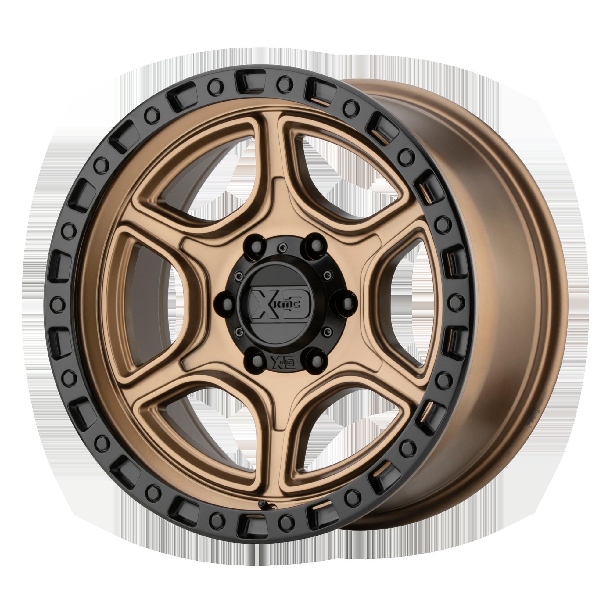 XD SERIES XD139 PORTAL hliníkové disky 8,5x17 5x127 ET18 Satin Bronze Satin Black Lip