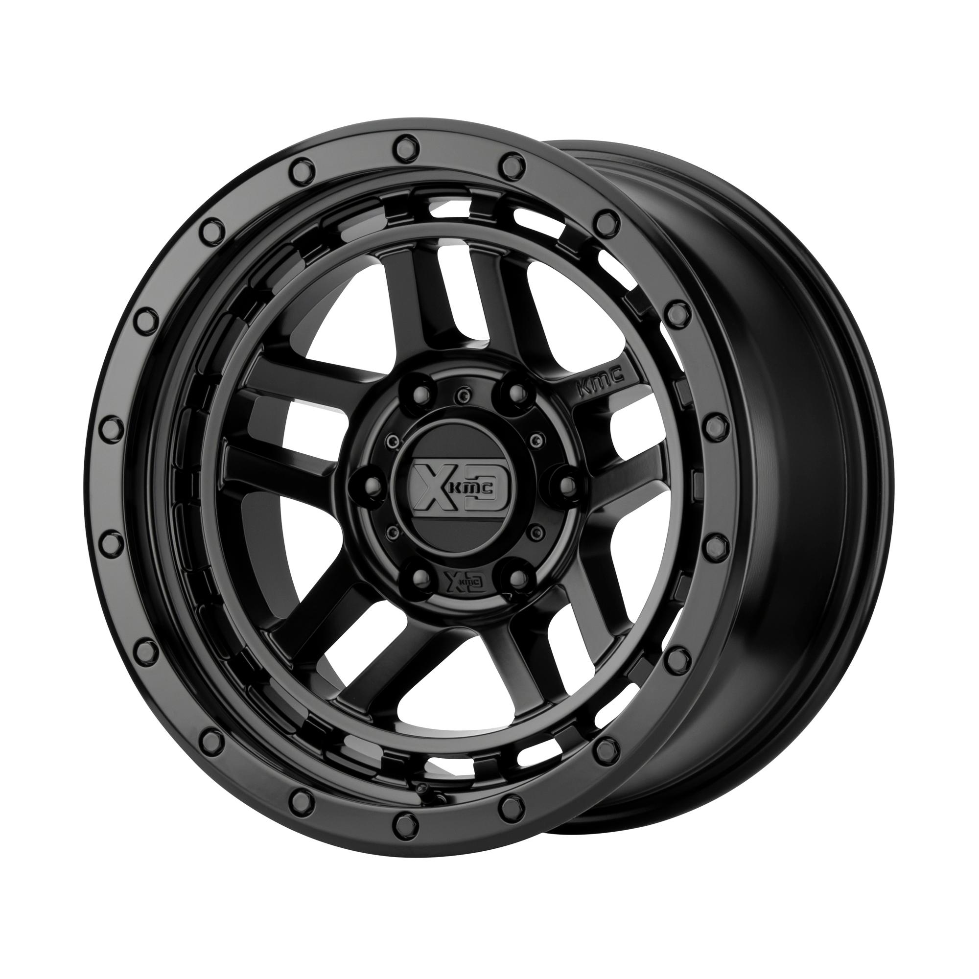 XD SERIES XD140 RECON hliníkové disky 9x17 5x127 ET-12 Satin Black