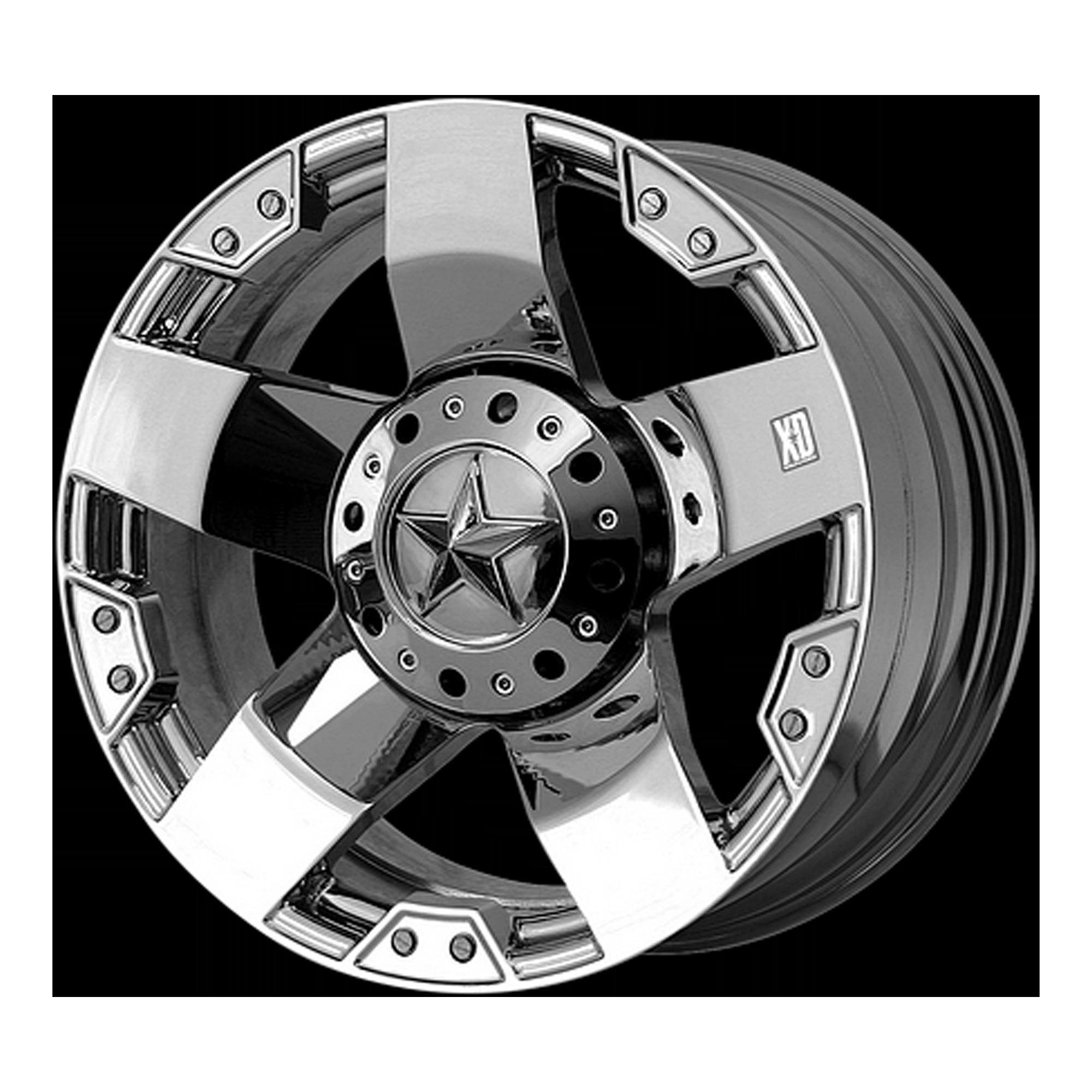 XD SERIES XD775 ROCKSTAR hliníkové disky 9,5x22 6x139,7 ET38 Chrome