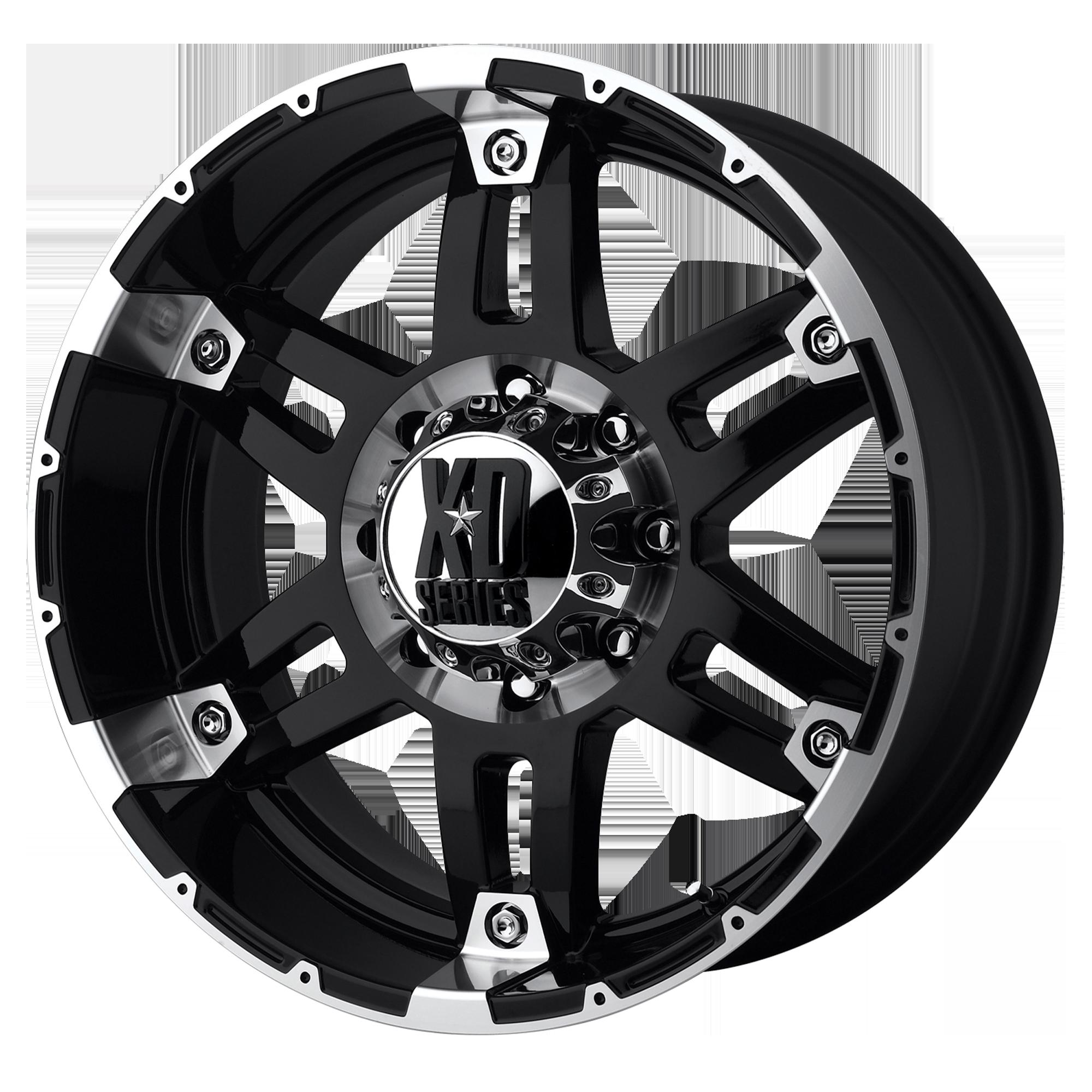 XD SERIES XD797 SPY hliníkové disky 8,5x18 5x127 ET18 Gloss Black Machined