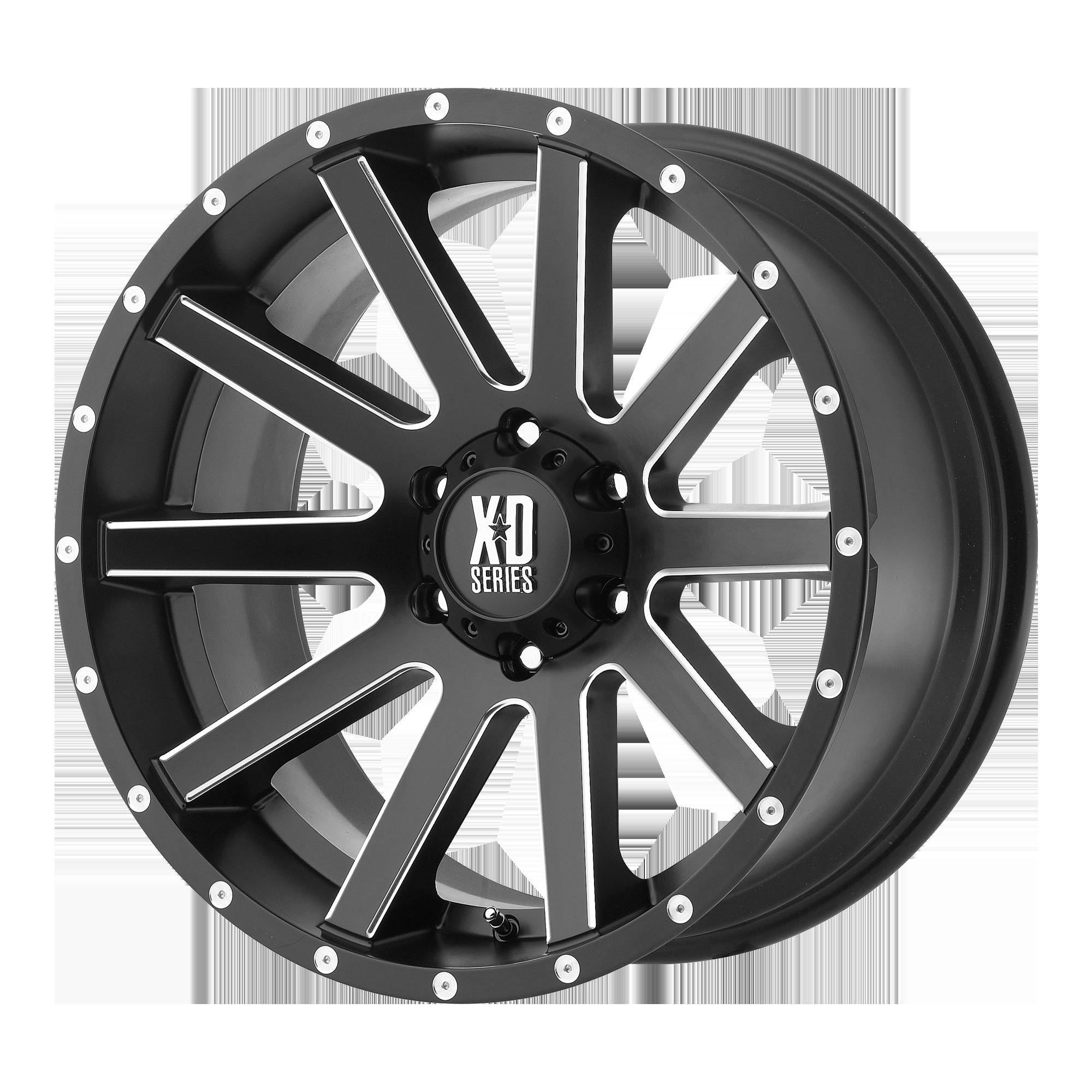 XD SERIES XD818 HEIST hliníkové disky 9x20 6x139,7 ET18 Satin Black Milled