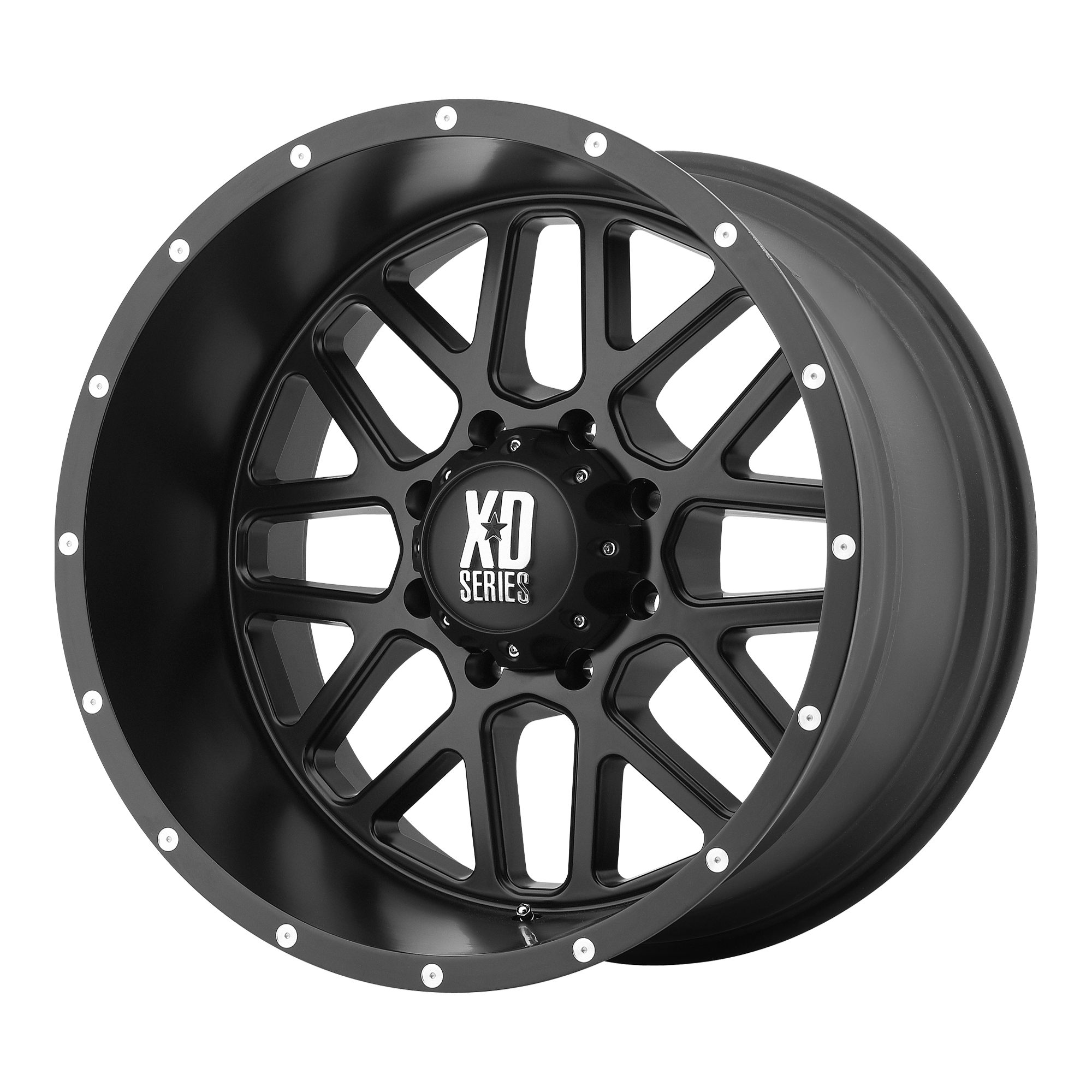 XD SERIES XD820 GRENADE hliníkové disky 8,5x17 8x165,1 ET0 Satin Black
