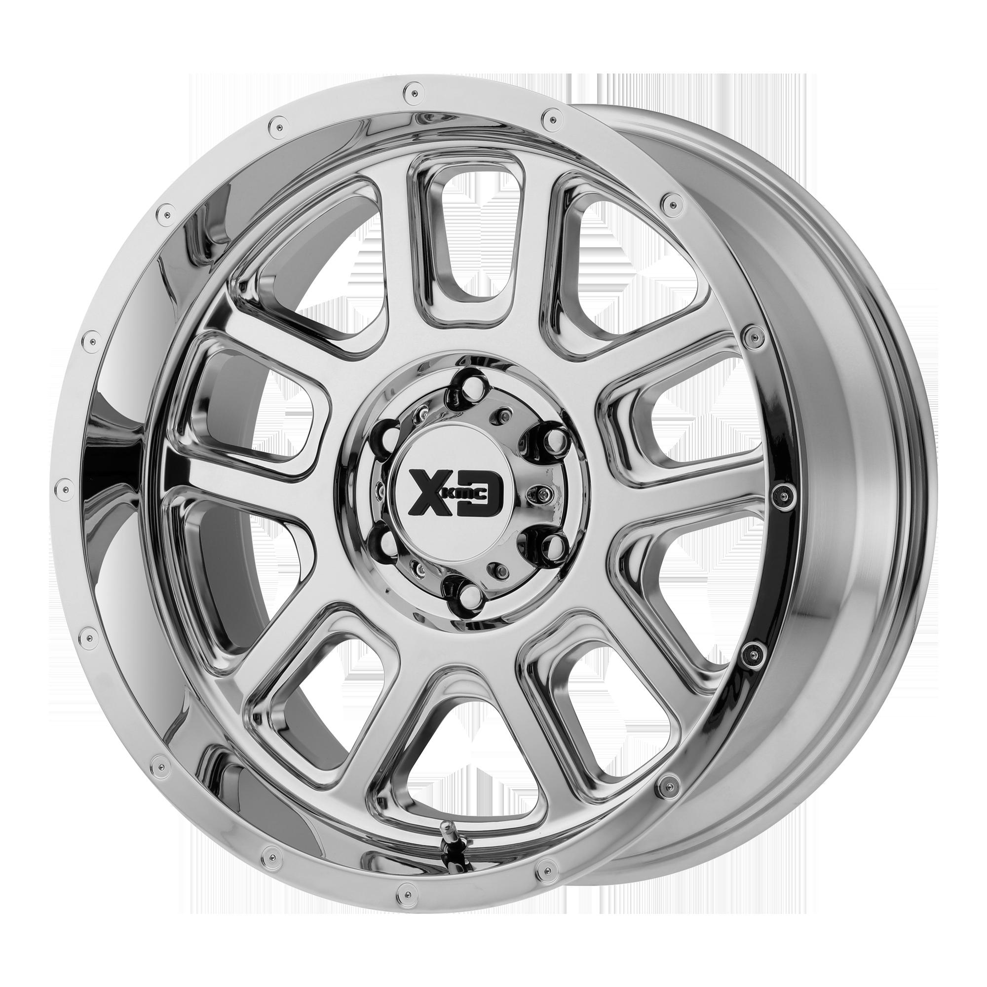XD SERIES XD828 DELTA hliníkové disky 10x22 6x135 ET-18 Chrome