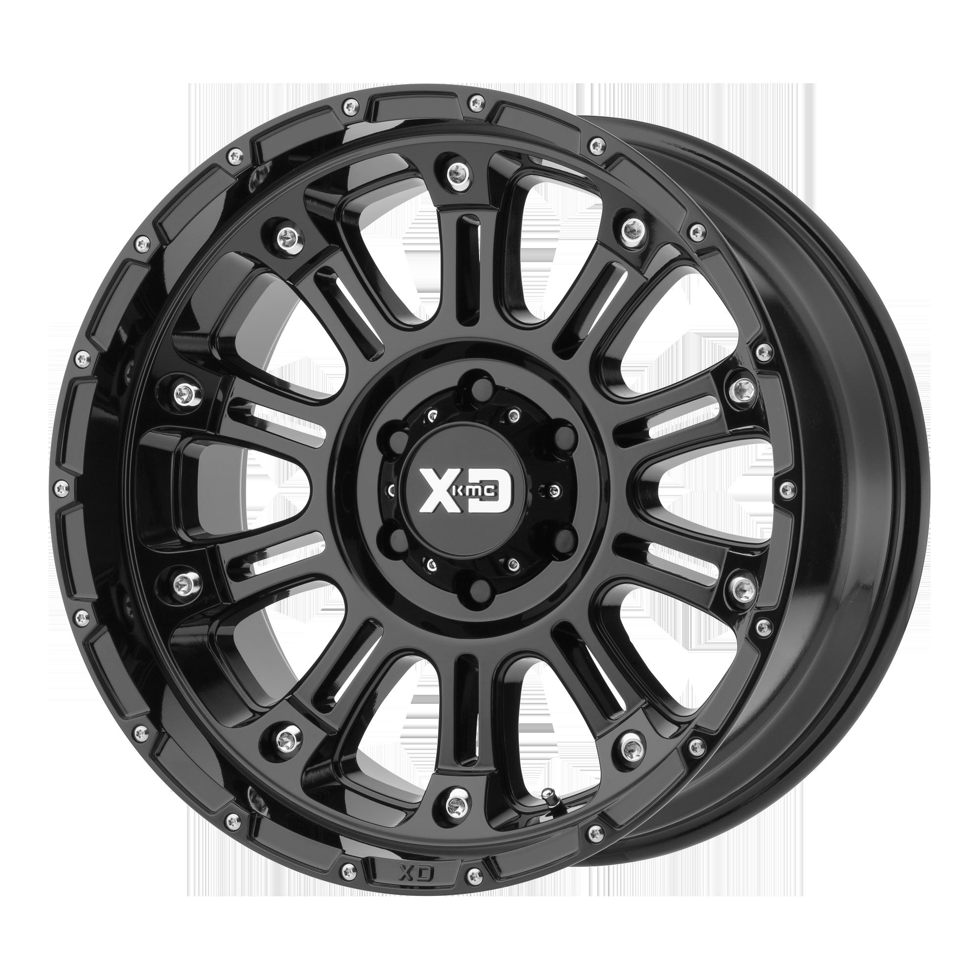 XD SERIES XD829 HOSS II hliníkové disky 12x22 8x165,1 ET-44 Gloss Black