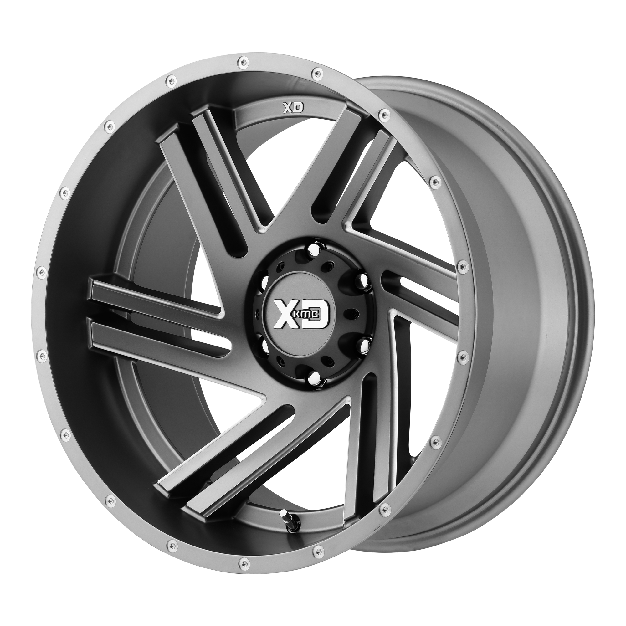 XD SERIES XD835 SWIPE hliníkové disky 9x17 6x139,7 ET30 Satin Gray Milled