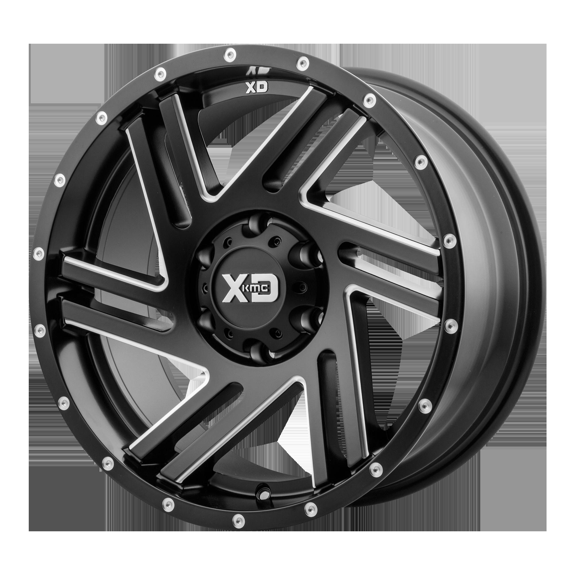 XD SERIES XD835 SWIPE hliníkové disky 9x20 8x170 ET-12 Satin Black Milled