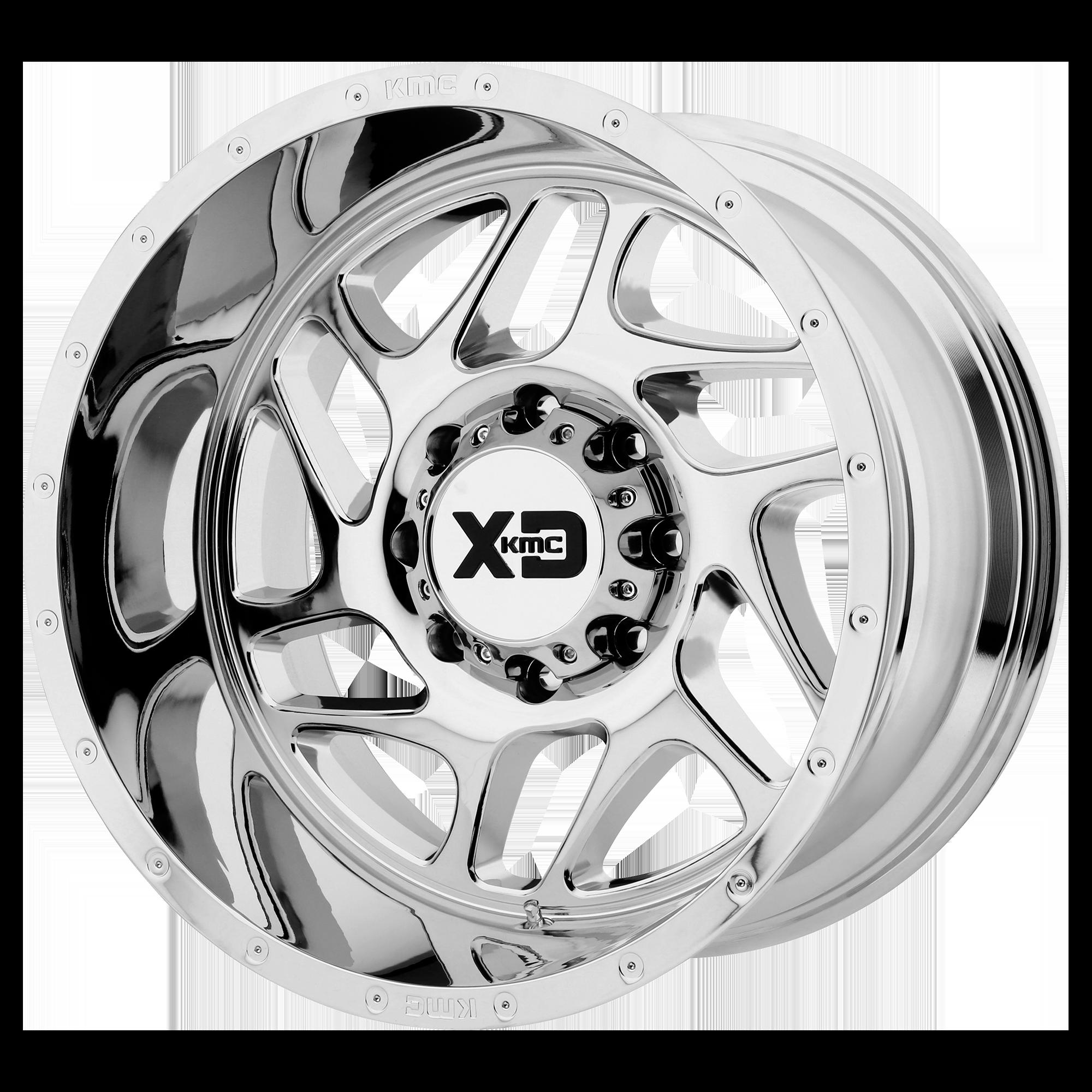XD SERIES XD836 FURY hliníkové disky 12x20 5x127 ET-44 Chrome