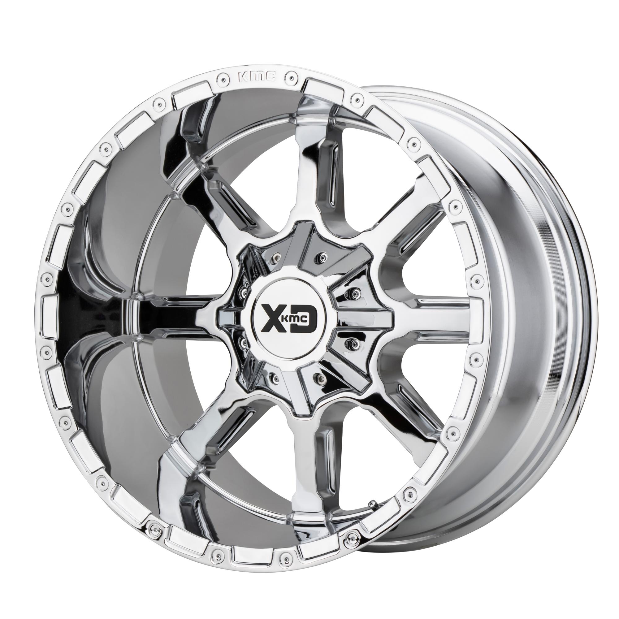 XD SERIES XD838 MAMMOTH hliníkové disky 9x20 8x165,1 ET0 Chrome