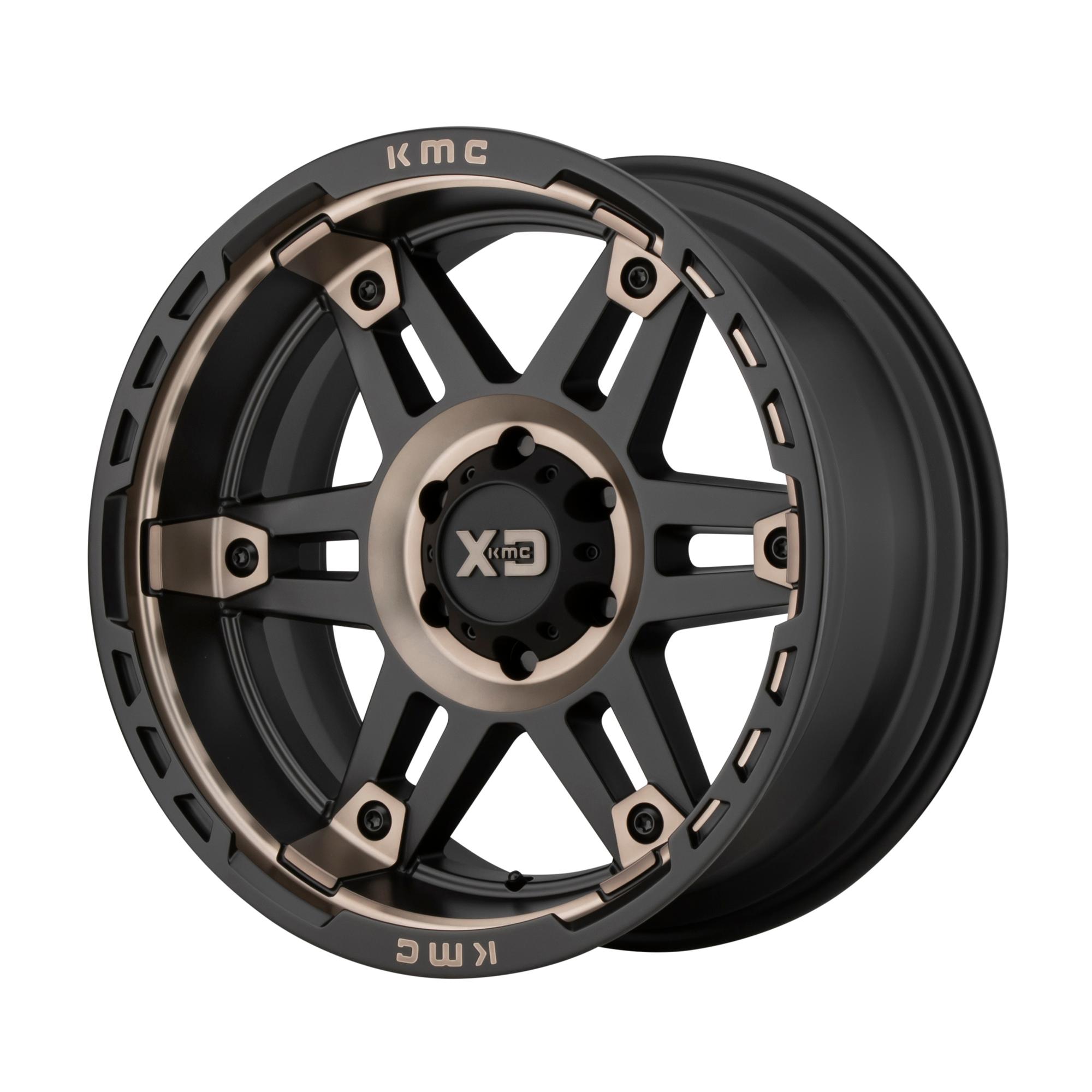 XD SERIES XD840 SPY II hliníkové disky 8x17 6x135 ET18 Satin Black Dark Tint