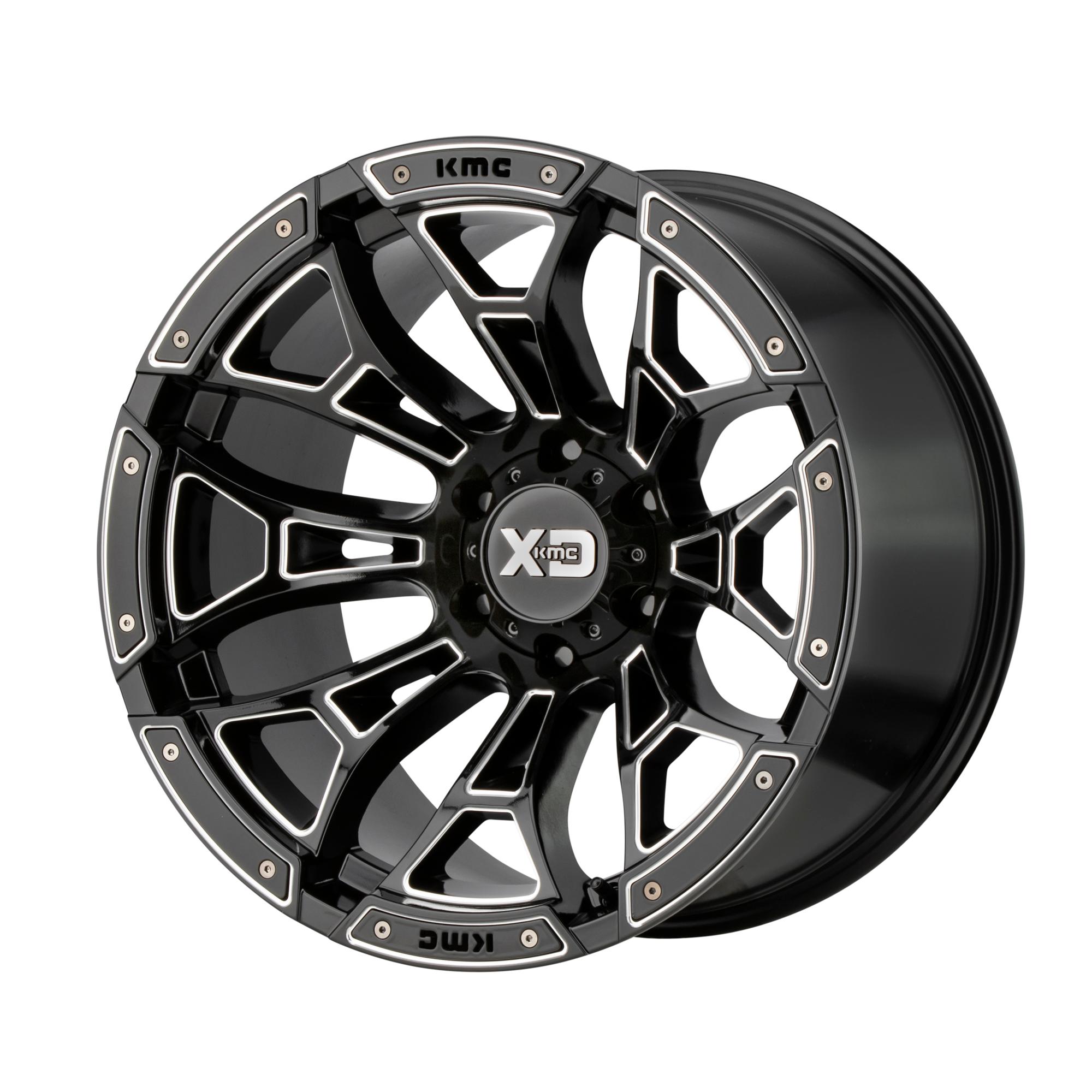 XD SERIES XD841 BONEYARD hliníkové disky 9x20 6x135 ET0 Gloss Black Milled