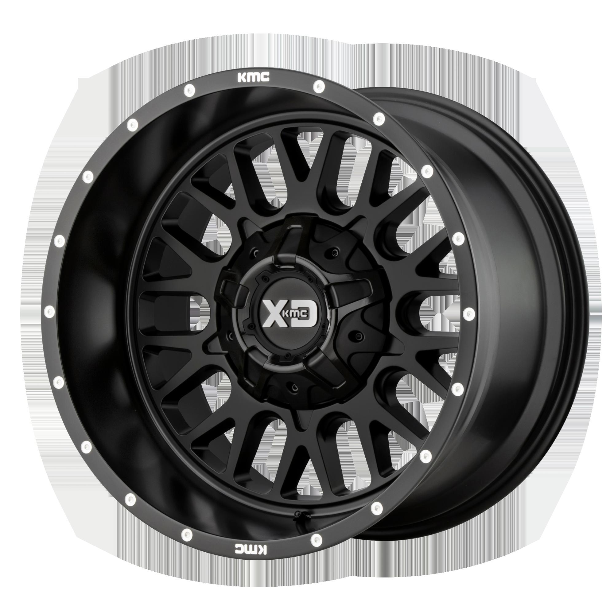 XD SERIES XD842 SNARE hliníkové disky 9x20 5x139,7 ET0 Satin Black