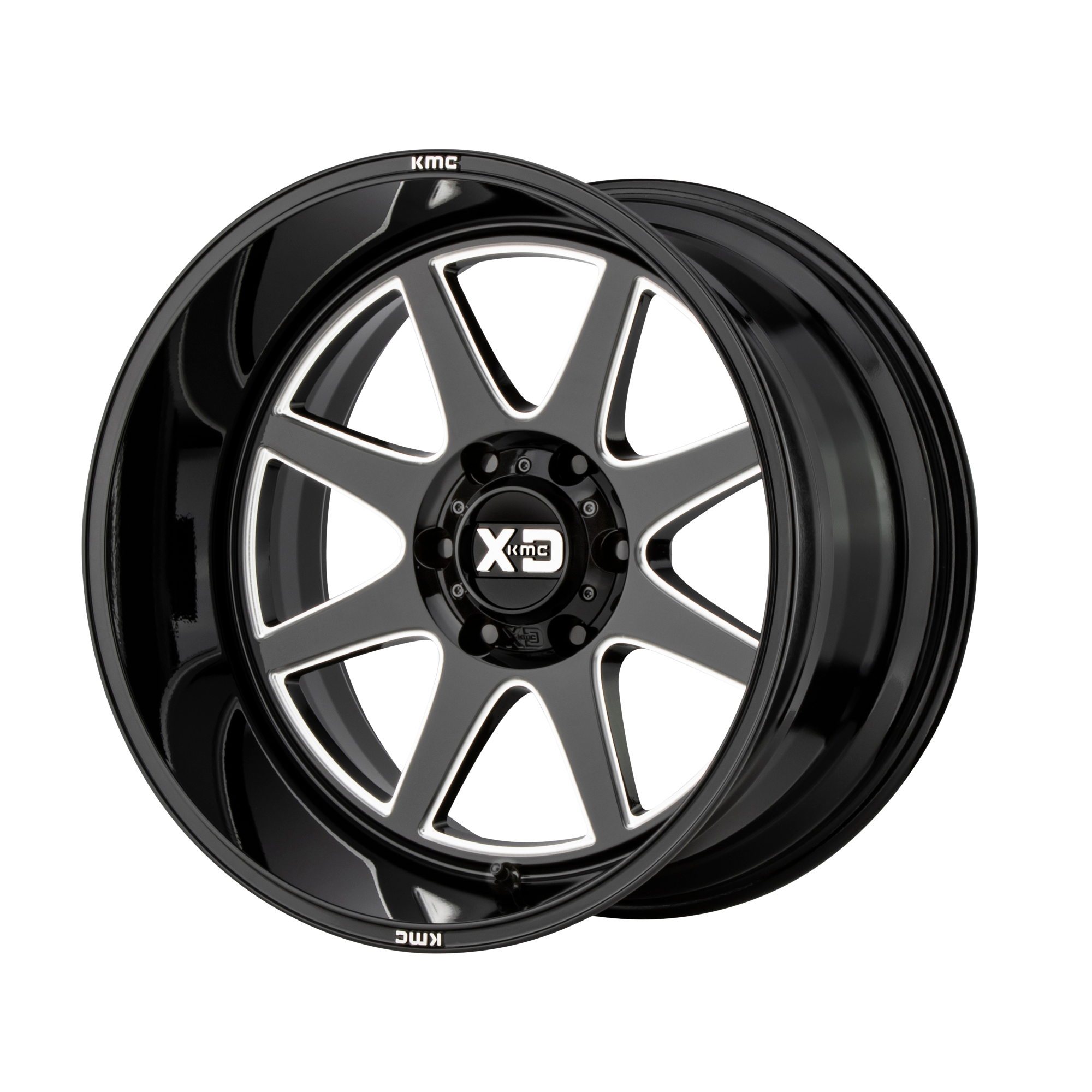 XD SERIES XD844 PIKE hliníkové disky 10x22 6x139,7 ET-18 Gloss Black Milled